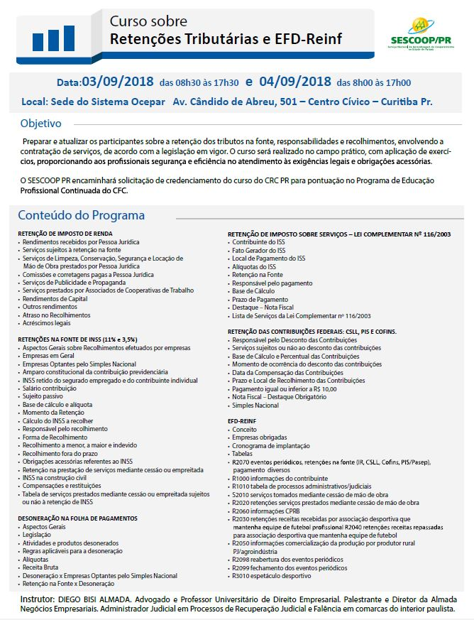 formacao II 29 08 2018