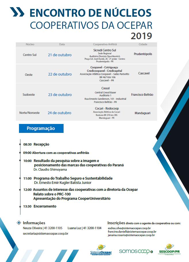 encontros nucleos folder 27 09 2019